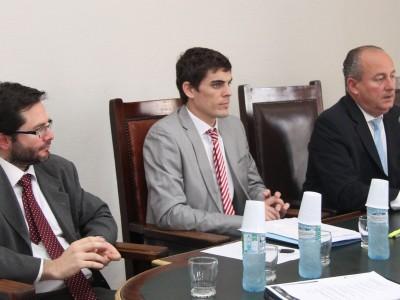 Elian Pregno, Gabriel Bartolomé y Juan Carlos Marino