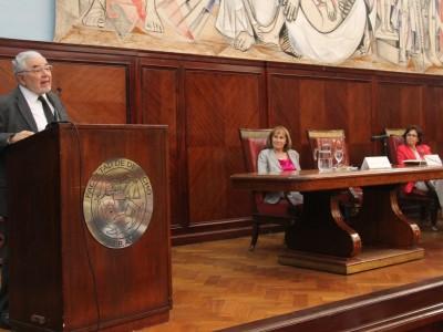 Santiago García Ramírez, Ángela E. Ledesma y Teresa Armenta Deu