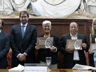Enzo Pagani, Carlos Mas Velez, Mónica Pinto, Oscar Zoppi y Virginia Badino