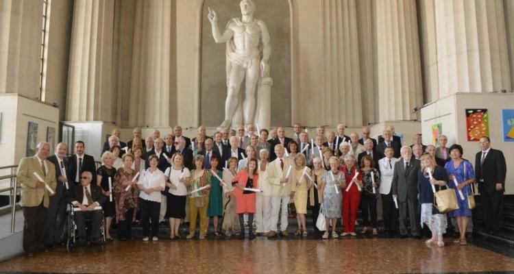 Homenaje a la promoción 1966 en su 50º aniversario de graduación