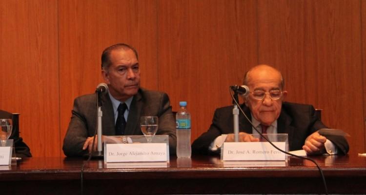 Horacio Sanguinetti, Jorge A. Amaya y José A. Romero Feris