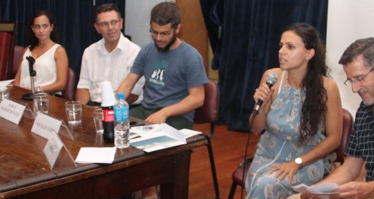 Juan A. Travieso, María del Pilar García Martínez, José Luis Agraz, Pablo Wainschenker, Natalia López y Francisco Bernal