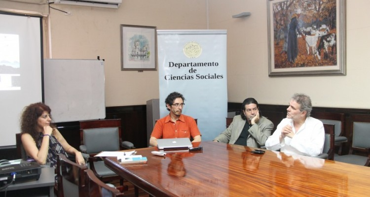 Ana Arzoumanian, Hernán Neira, Ricardo Rabinovich-Berkman y Enrique Del Percio