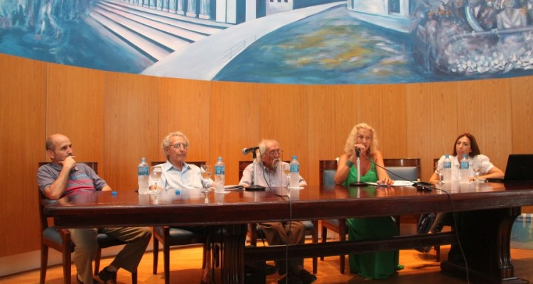 Andrés Bestard Maggio, Antonio Pujía, Ponciano Cárdenas, Zulma García Cuerva y Andrea Gastrón
