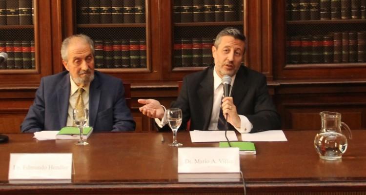 Edgardo Donna, Edmundo Hendler, Mario A. Villar y Leonardo Miño
