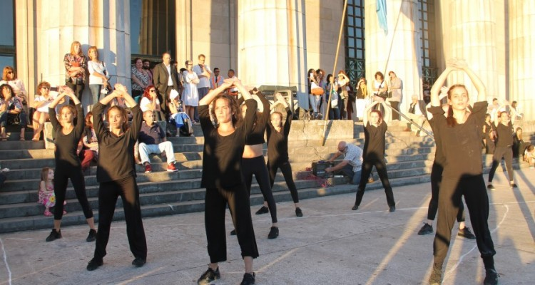 """Danza coreográfica """"Bolero de ravel"""" (coreografía y dirección por Mónica Fracchia)"""