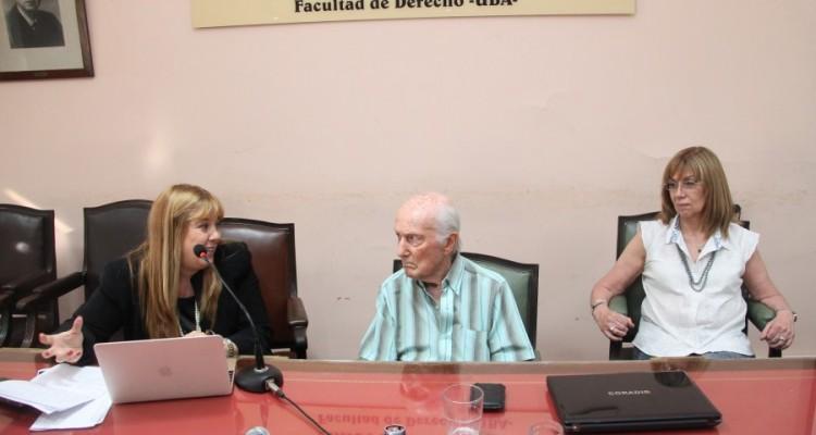 Marisa Aizenberg, Aldo Neri y Viviana Bonpland