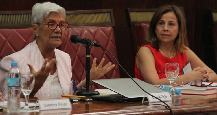 Mónica Pinto y Adriana Ospina