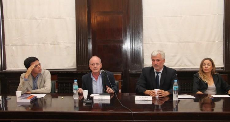 Sebastián Tedeschi, Hernán Petrelli, Guillermo Scheibler y Natalia Mortier