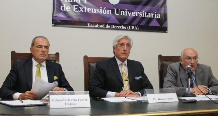 Eduardo Mario favier Dubois (h), Daniel R. Vítolo y Eduardo Barreira Delfino