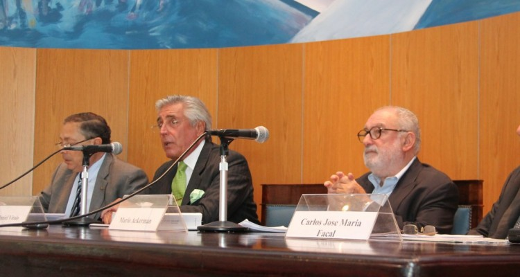 Felipe Aguirre, Daniel R. Vítolo, Mario Ackerman y Carlos José María Facal