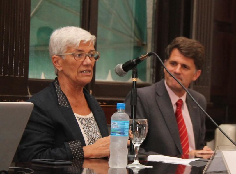 Mónica Pinto e Iñaki Anitua