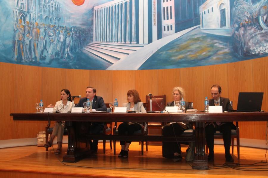 Luciana Gil, Patricio Degiorgis, Sandra Negro, Lorenza Sebesta y Davide Caocci