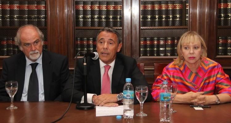 Marcos Córdoba, Gabriel Rolleri y Gabriela Medina