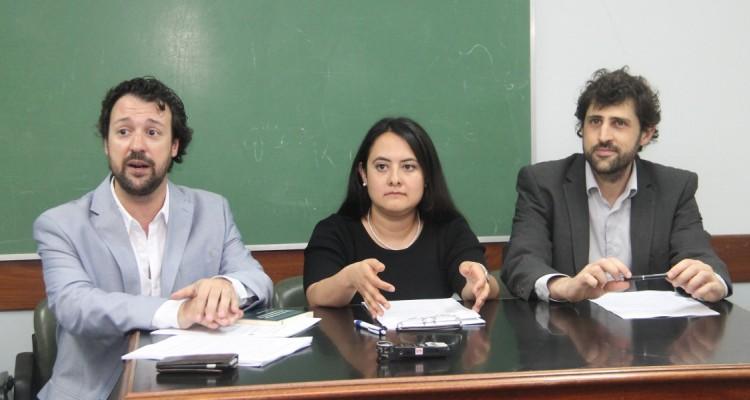Emiliano J. Buis, Mireya Castañeda Hernández y Fernando Arlettaz