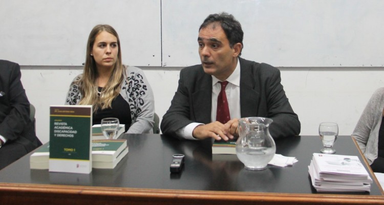 Enrique Suárez, Virginia Sabino, Juan A. Seda y María Inés Bianco