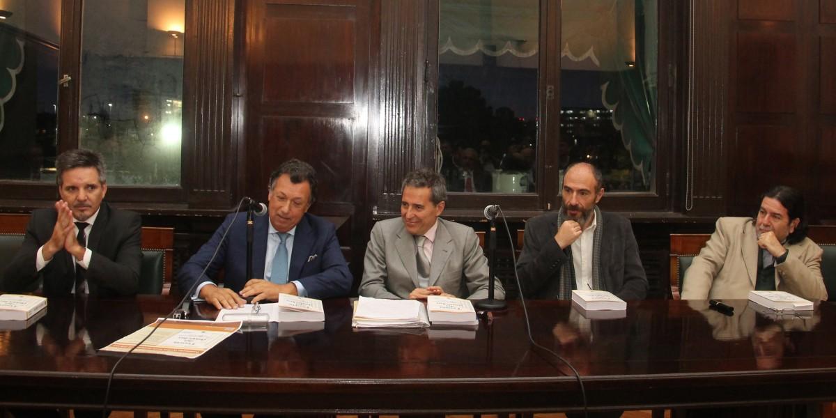 Juan Pablo Alonso, Alberto Dalla Vía, Renato Rabbi-Baldi Cabanillas, Diego Duquelsky y Ricardo Rabinovich-Berkman