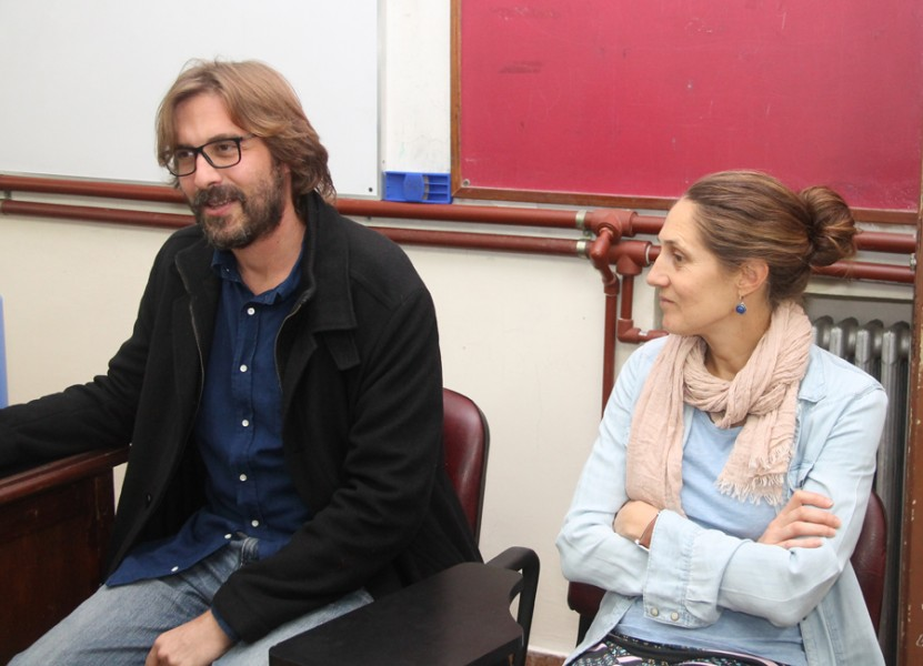 Martín Sigal y Carolina Varsky