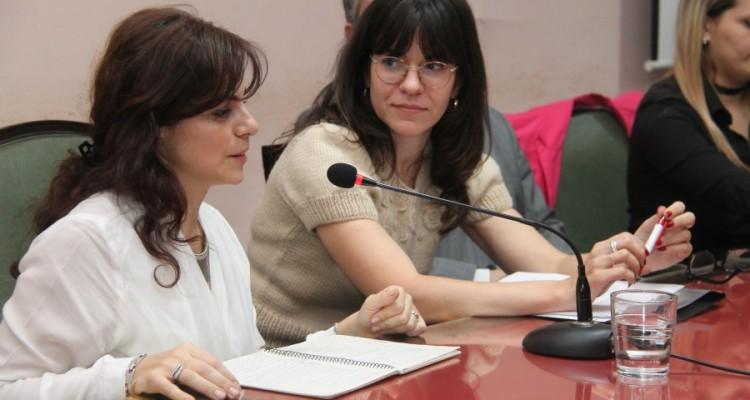 María Celia Martínez de Castro y Luciana Scotti