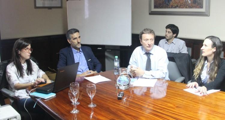 Bernarda García, Hernán Olaeta y Leonardo Pitlevnik