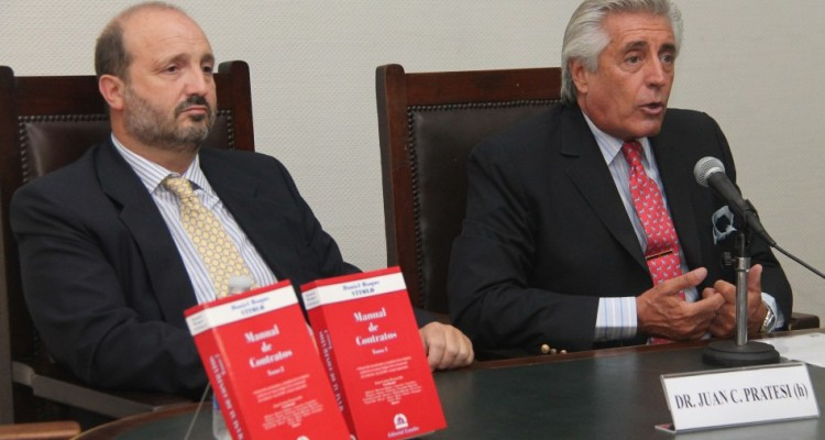 Juan Carlos Pratesi (h) y Daniel R. Vítolo
