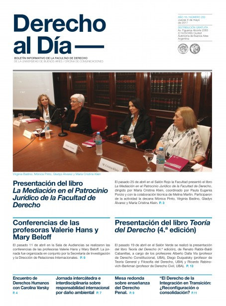 Tapa de Derecho al Día - Edición 283