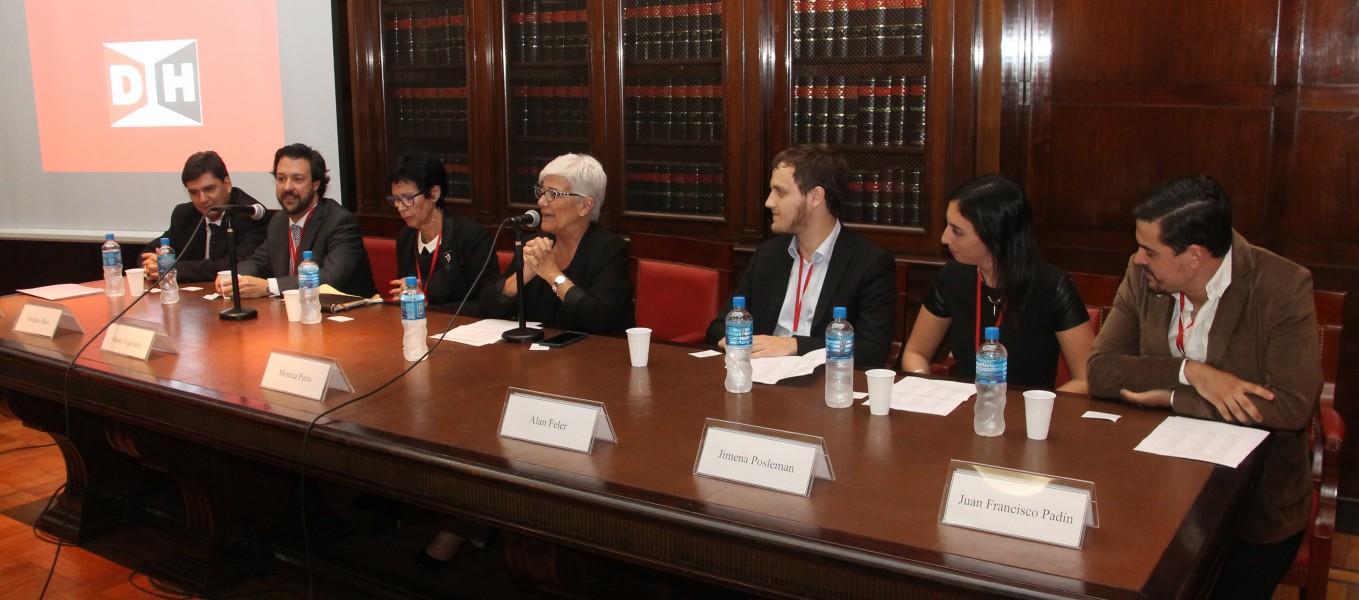 Gabriel Valladares, Emiliano Buis, Marta Vigevano, Mónica Pinto, Alan Feler, Jimena Posleman y Juan Francisco Padín