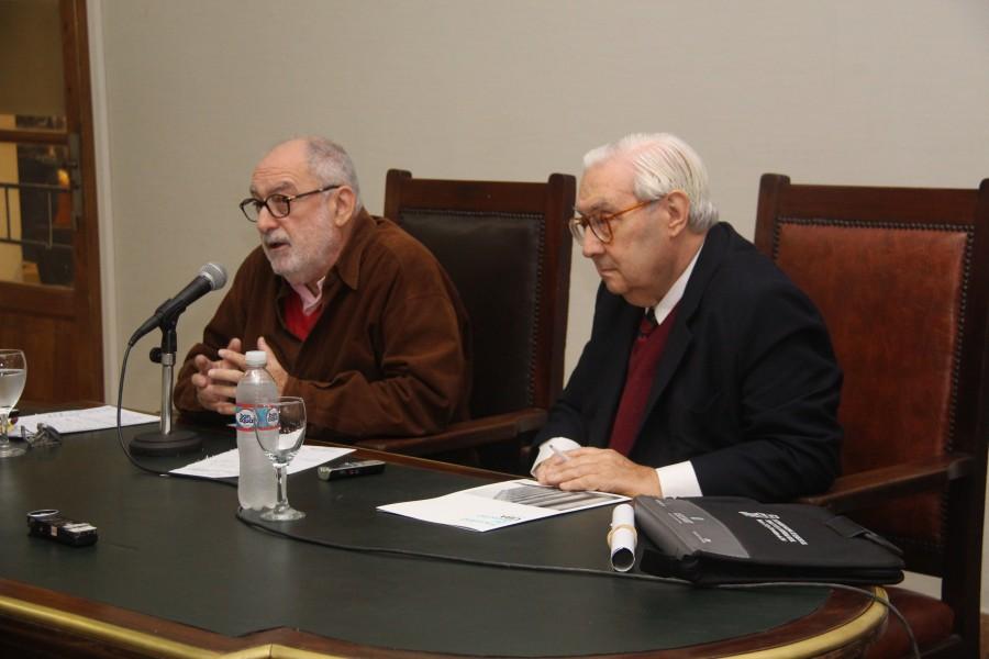 Mario Ackerman y Ricardo Guibourg