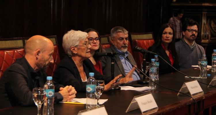 François Roudié, Mónica Pinto, Natalia Sabatini, José Kenny, Irma A. González y Pablo Toledo