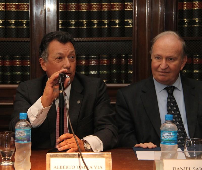 Alberto Dalla Via y Daniel Sabsay