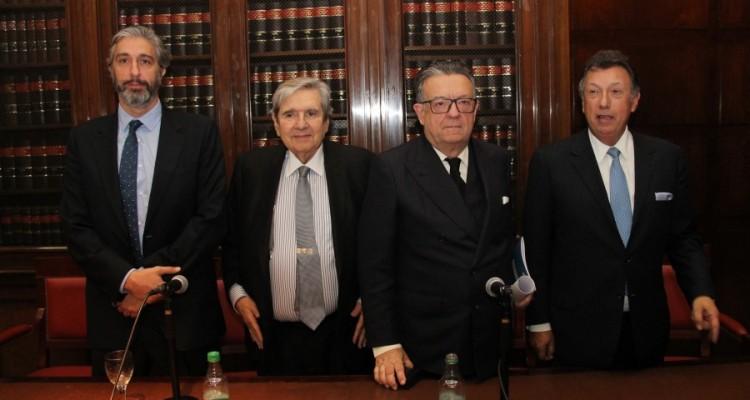 Juan Pablo Mas Velez, Alberto Bueres, Miguel Herrero y Rodríguez de Miñón y Alberto Dalla Via