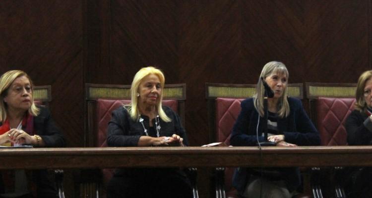 Silvia L. Coria, Beatriz Krom, Silvia Nonna y Leila Devia