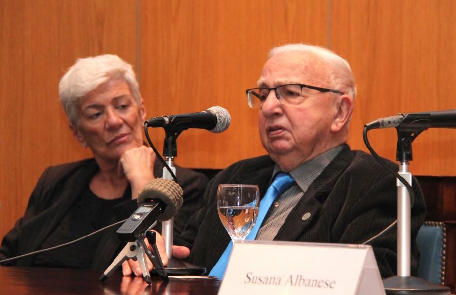 Mónica Pinto y Jorge Klainman