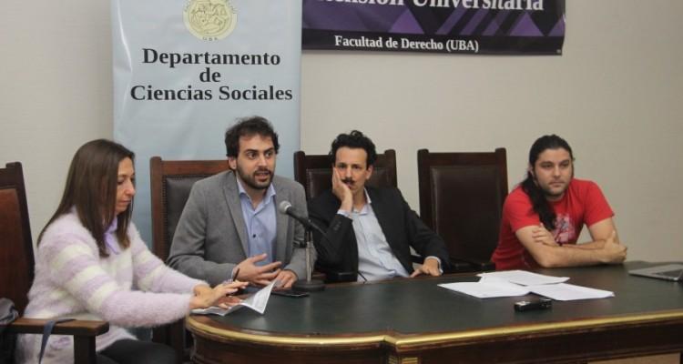 Andrea Gastron, Tomás Pomar, Ezequiel Quaine y Guido Vilariño