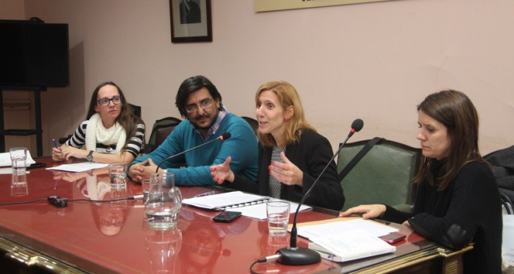 Claudia Daniel, Sergio Morresi, Pilar Arcidiácono y Carla Zibecchi