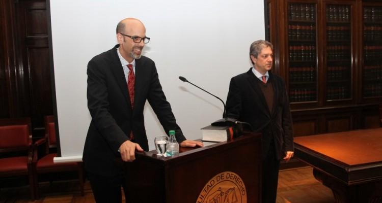 Daniel Markovits y Marcelo Alegre