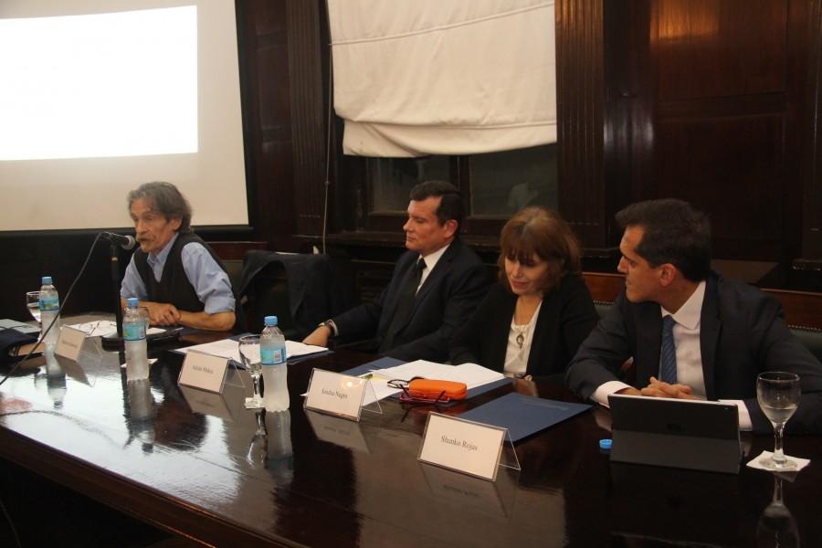 Adrián Makuc, Matthew Kennedy, Sandra C. Negro y Shunko Rojas