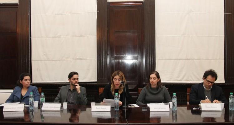 Verónica S. Souto Olmedo, Gonzalo García Steeman, Paula Vernet, Analía Cascone y Diego Solernó
