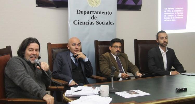 Ricardo Rabinovich-Berkman, Sandro Olaza Pallero, Sergio Núñez y Ruiz-Díaz y Maximiliano Vázquez Sandoval