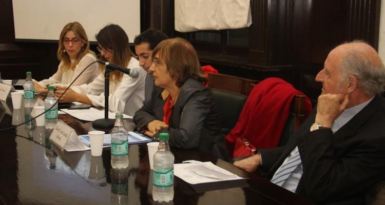 Paula María Vernet, Aldana Rohr, Tomás Guisado Litterio, Lilian C. del Castillo Laborde y Juan A. Travieso