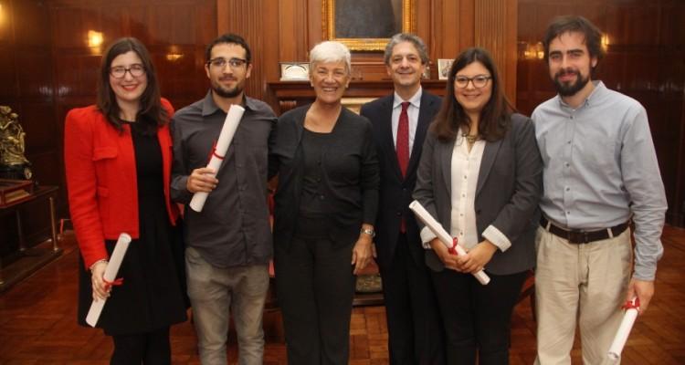 Inés Bescós Vera, Matías M. Ringa, Mónica Pinto, Marcelo Alegre, Agostina Cichero y Patricio E. Kenny