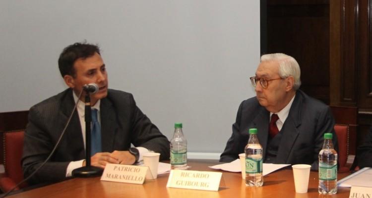 Patricio Maraniello y Ricardo Guibourg