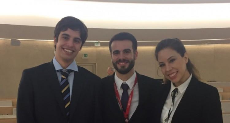 Tomás María Ainchil, Víctor Lisandro Elías y Carolina Taddeo