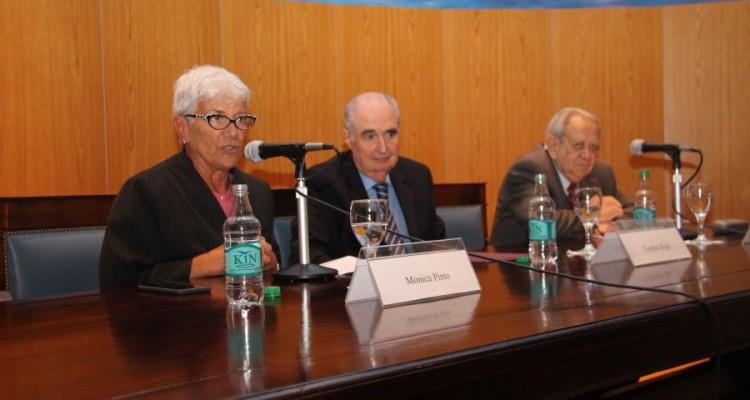 Mónica Pinto, Esteban Righi y Salvador D. Bergel