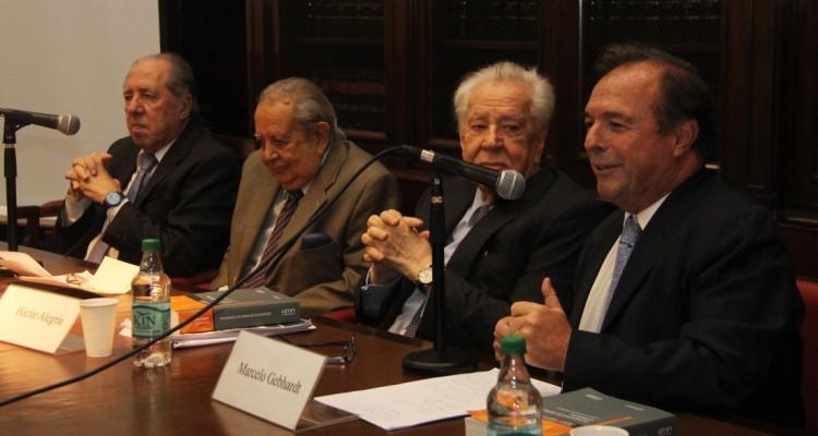 Carlos Gerscovich, Salvador Dario Bergel, Héctor Alegría y Marcelo Gebhardt