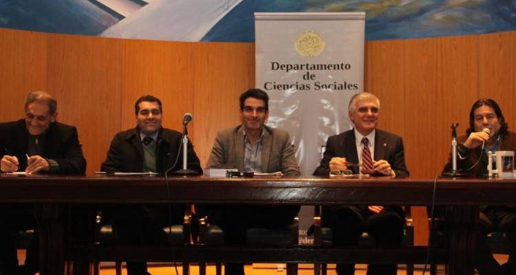 Mario Serrafero, Sebastián Sancari, Christian Cao, Jorge O. Bercholc y Ricardo Rabinovich-Berkman