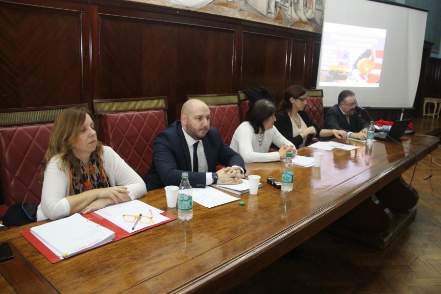 Liliana Rodríguez Fernández, Mariano Zeballos, Gabriela Mellino, María Lucila Franzosi y Horacio Schick