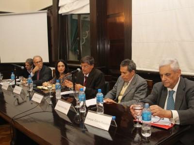 Marcelo Alegre, Carlos Rosenkrantz, Mercedes Ales Uria, Michele Mangini, Renato Rabbi-Baldi Cabanillas y Enrique Zuleta Puceiro