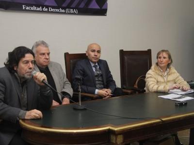 Ricardo Rabinovich-Berkman, Jorge F. Cholvis, Sandro Olaza Pallero y Elizabeth Silva