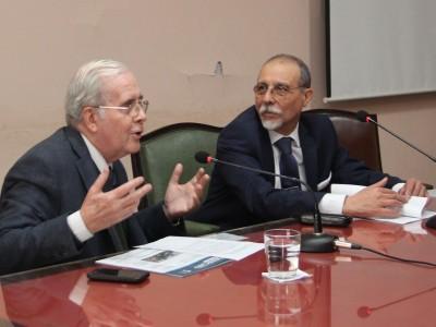 Tulio Ortiz y Raúl Arlotti